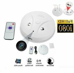HD Video Recorder Camcorder Hidden Spy Camera Smoke Detector