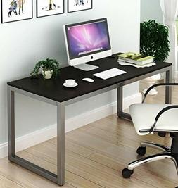 SHW Home Office 55-Inch Large Computer Desk,