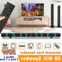 Detachable Bluetooth Wireless Speaker Stereo Subwoofer TV So