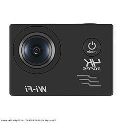HUACHEN WIFI Action Camera SONY Sensor 16MP 4K 100FT Waterpr