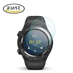 3 Pack Huawei Watch 2 / Watch 2 Sport Tempered Glass Screen
