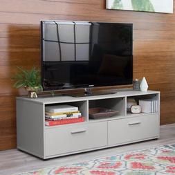 Finley Home Hudson Low Profile TV Stand - Gray