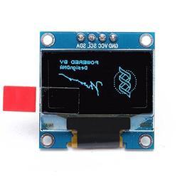 BephaMart 0.96 Inch 4Pin IIC I2C Blue OLED Display Module Fo