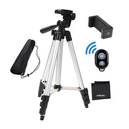 "UltraPro 50"" Inch Aluminum Camera Tripod with Universal Smar"