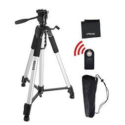 "UltraPro 72"" Inch Heavy Duty Aluminum Camera Tripod + Wirele"