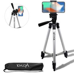 "Acuvar 50"" inch Smartphone Tripod + Bag For iPhone Xr Xs Max"