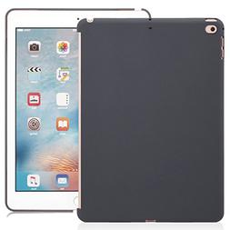 iPad 9.7 Inch 2017 and 2018 Inch Charcoal Gray Color Case -