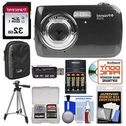 Polaroid iS126 16.1MP Digital Camera  with 32GB Card + Case