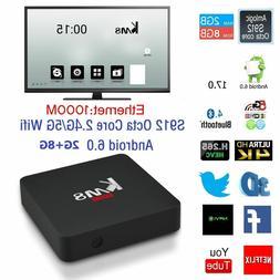 KM8 Pro 4K Smart TV Box Amlogic S912 Octa core Android 6.0 2