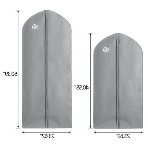 1/5/10Pcs Garment Suit Dress Clothes Breathable Protector Storage