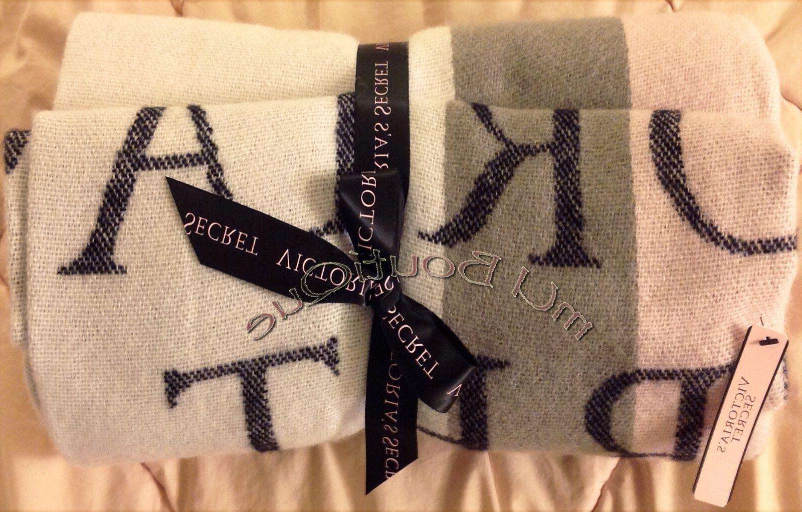 1 victoria secret blanket throw holiday limited