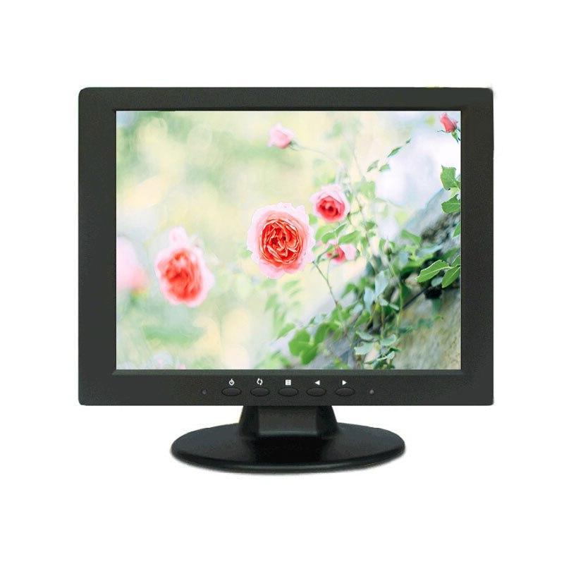 10.4 TFT LED Color Audio Video Display VGA BNC Security <font><b>Monitor</b></font> <font><b>Built</b></font>-<font><b>in</b></font>