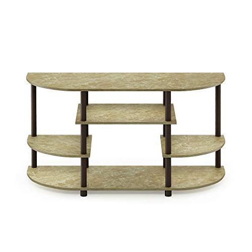 Furinno Simple Design Marble Brown/Brown