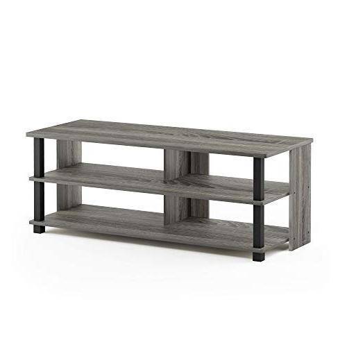 Furinno 17077GYW/BK Stand for Grey/Black