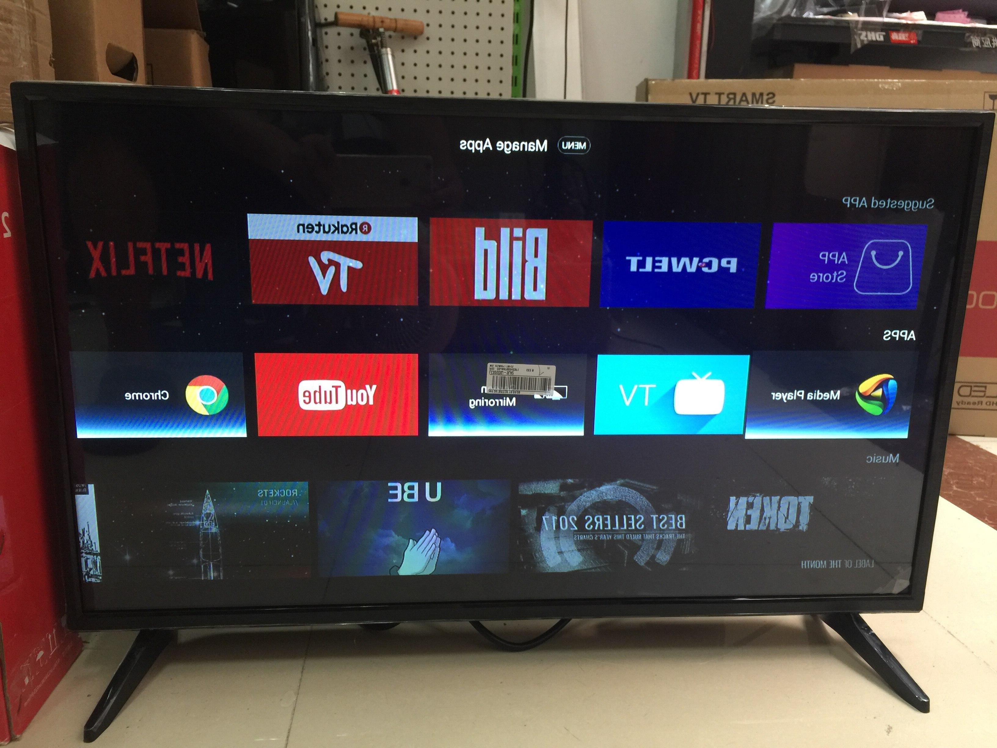 32 40 46 <font><b>50</b></font> <font><b>inch</b></font> youtube TV android 7.1.1 smart LED & monitor