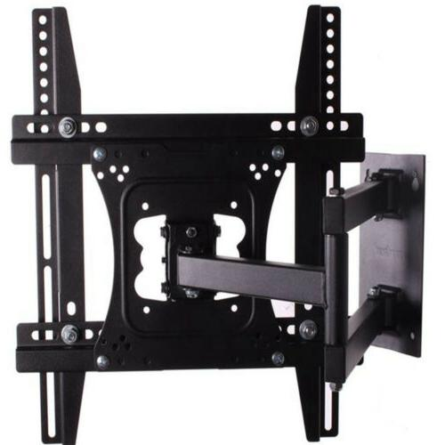 Full Motion TV Wall Mount Tilt Swivel 27-42 45 46 47 48 50in
