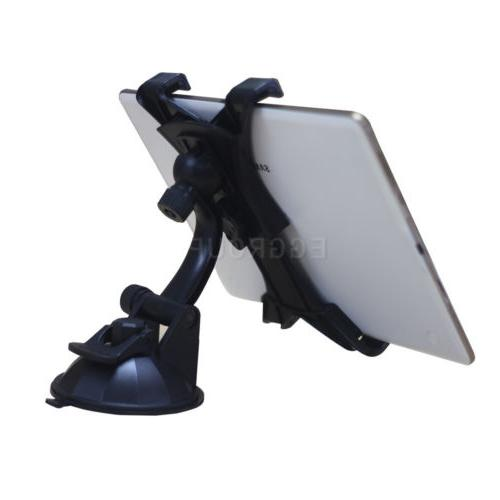 """360° Car Windshield Holder Suction Stand For To11"""" Inch Tablet"""