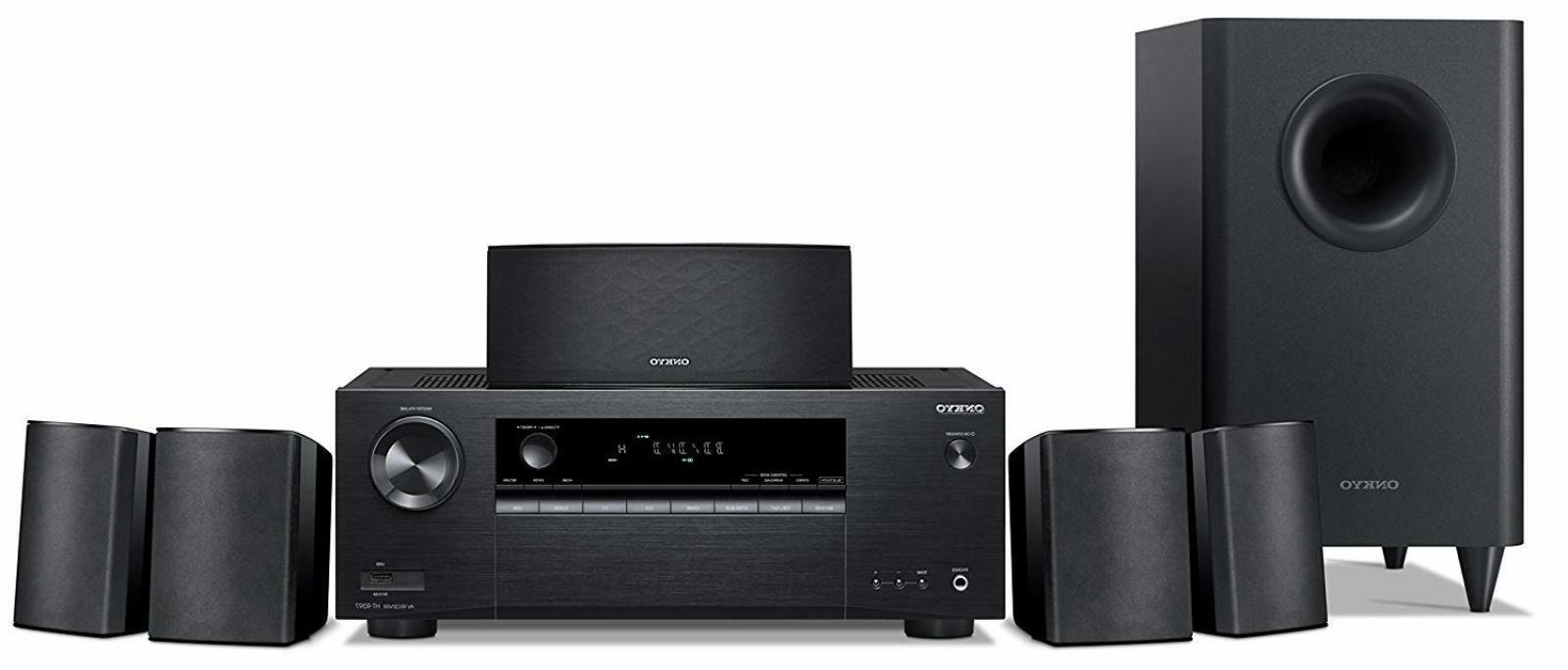 5.1-Channel Home Theater Receiver/Speaker Package Bluetooth