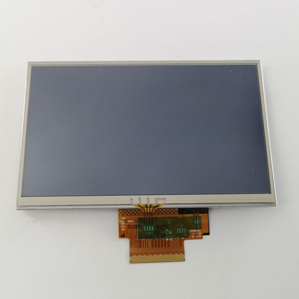 5 TFT Screen TomTom GPS full display panel Touch digitizer