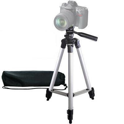 """50"""" Inch Pro Series Aluminum Camera Tripod for DSLR Camera"