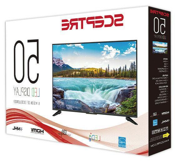"50"" TV Wall Class HD1080P Black"