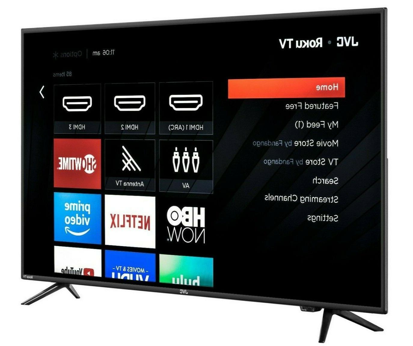 50 inch 4k roku smart tv led