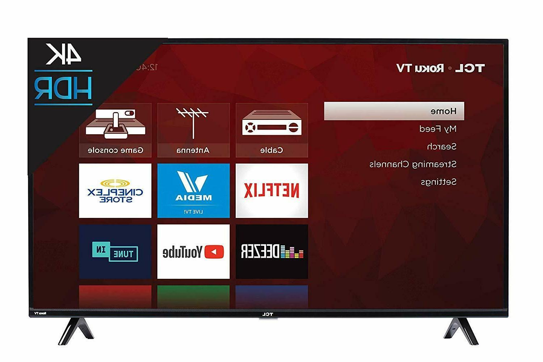 50 inch 4k smart led roku tv