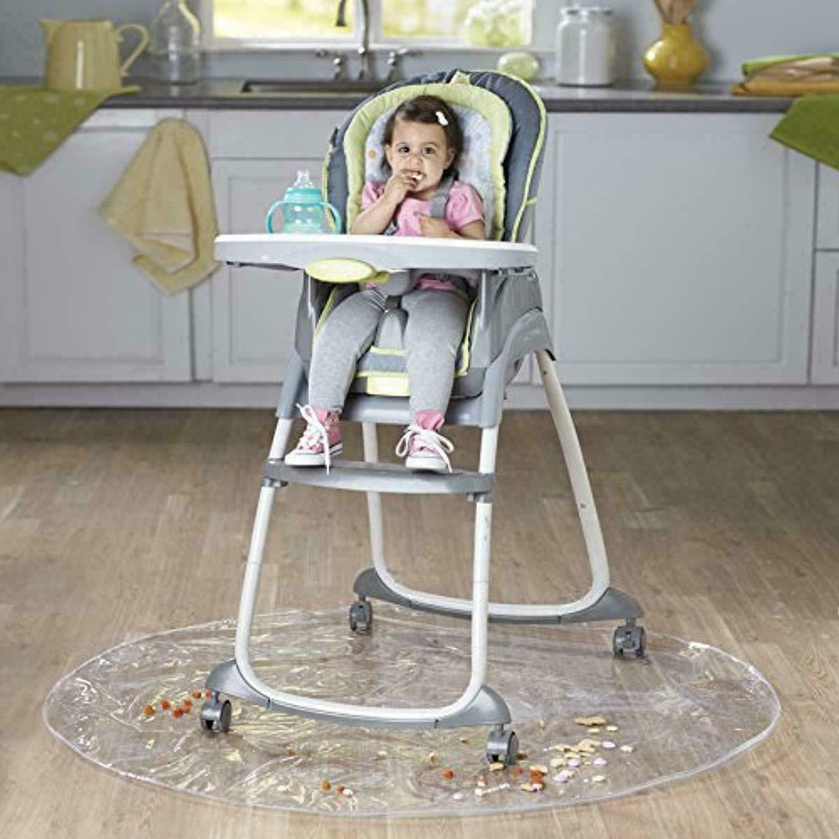 50 Baby Chair Infant Toddler Feeding Floor Protector Clear
