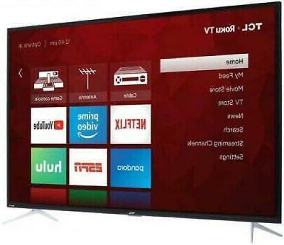 """TCL 50"""" 4K Ultra HD LED 50S423"""
