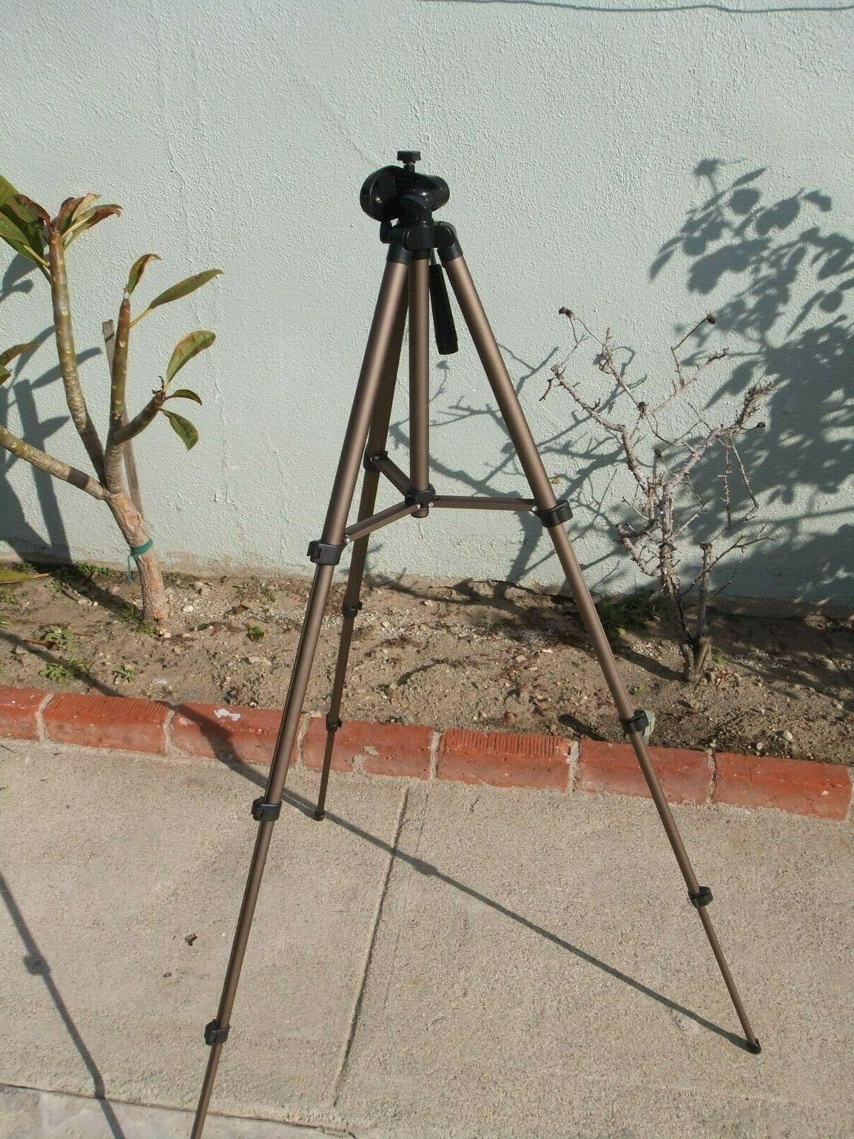 50 inch lightweight tripod with level