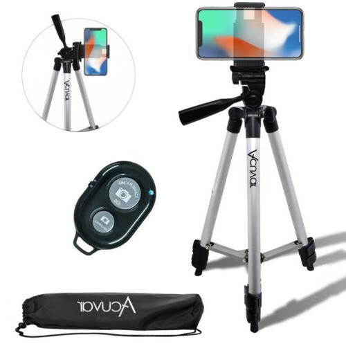 50 inch smartphone tripod and bluetooth remote