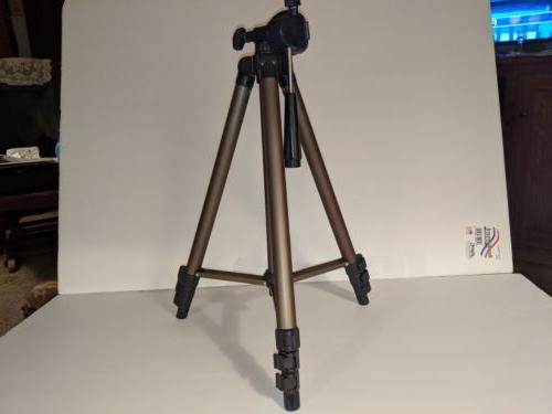 50 inch tripod with carry case