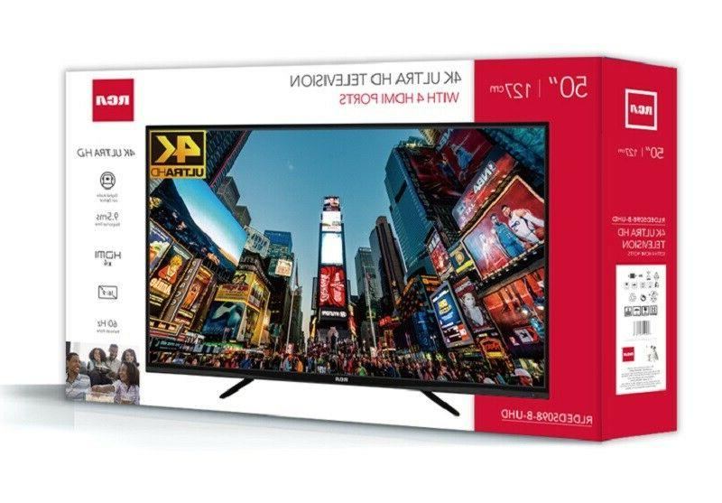50 Inch Ultra LED Television 2160p Surround Sound