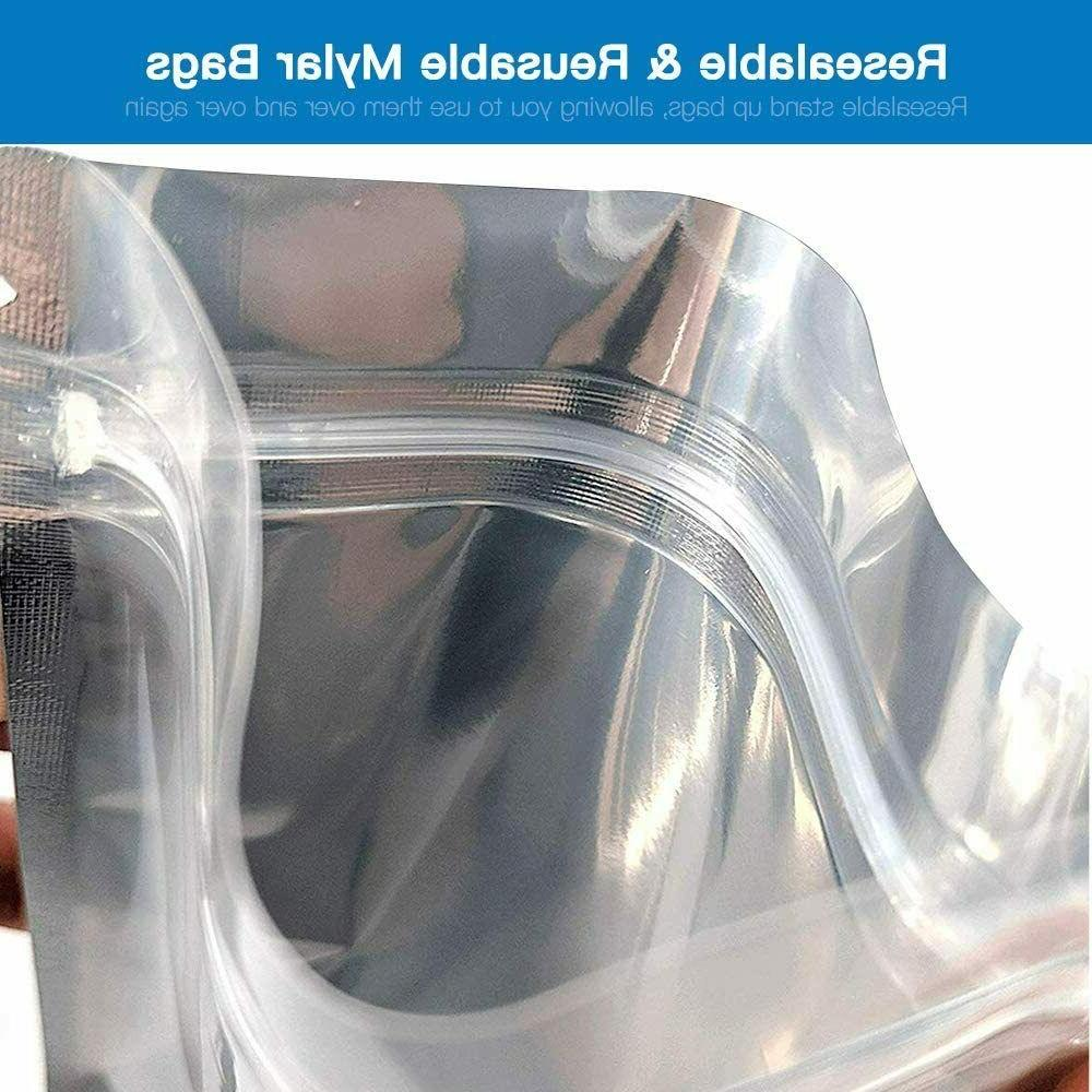 50 up Foil Mylar Bags - 7.87 x 11 inch