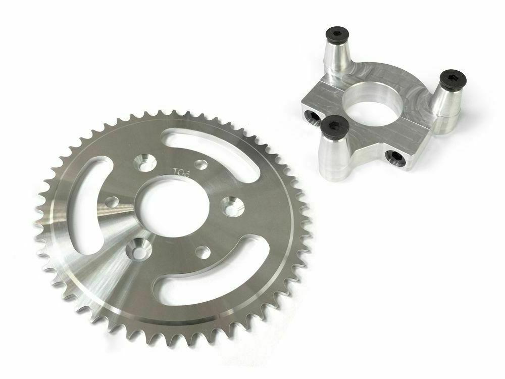 50 tooth cnc sprocket and 1 0