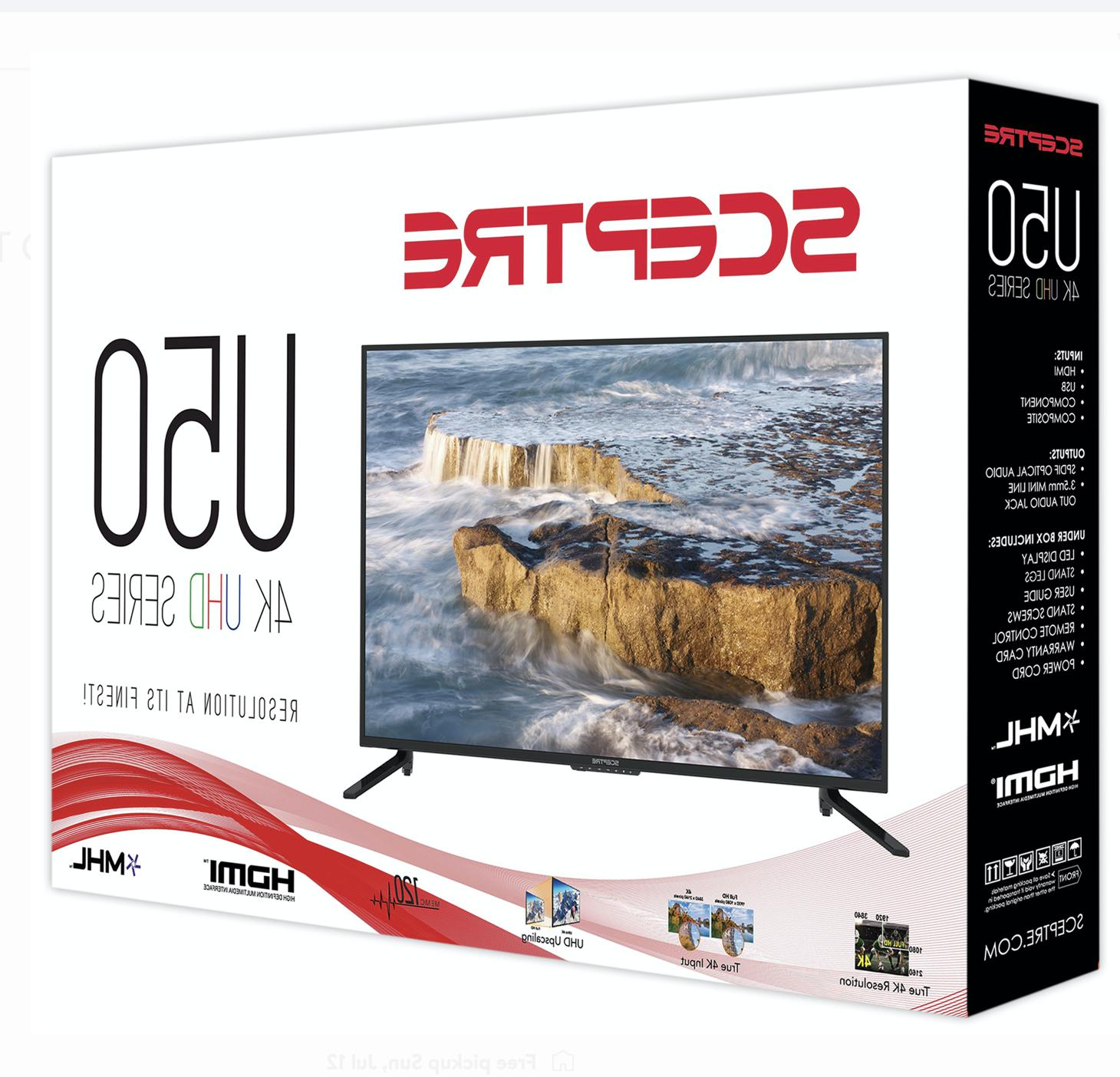 Sceptre 50inch UHD TV