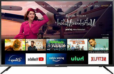 "Toshiba - 50"" Class LED 4K UHD Smart FireTV Edition TV"