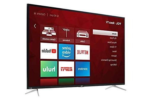TCL 4K UHD HDR Roku Smart LED TV
