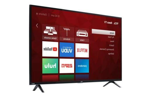 4K Ultra HD LED Wi-Fi Smart TV with Remote