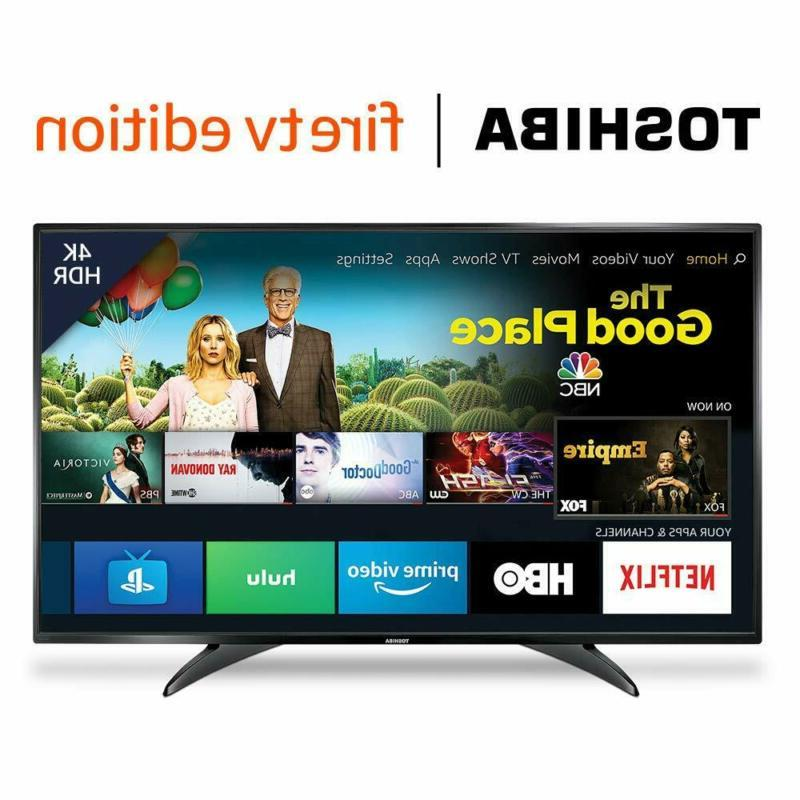 Toshiba HD & 4K Ultra HDSmart Led Tv Hdr W/ Fire Tv Edition