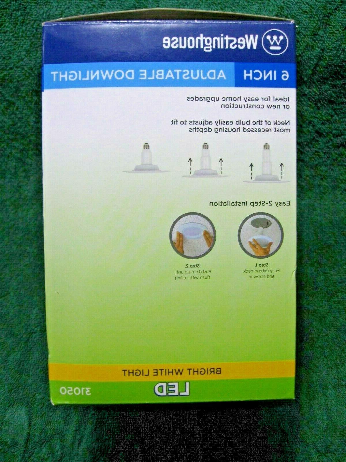 WESTINGHOUSE 75 Watt Equivalent Adjustable Downlight