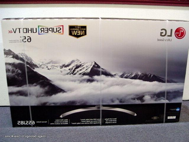 "LG 65SJ8500 65"" Smart LED 4K HD TV SUHD HDR 2017 Flat Screen No"