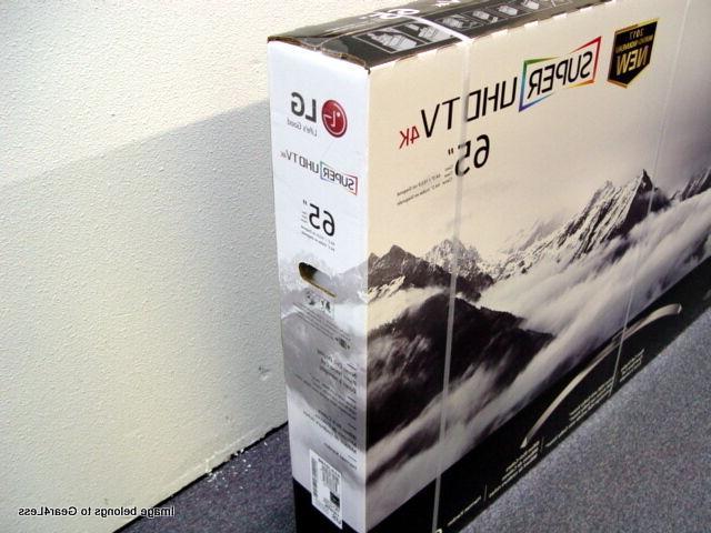 LG 65SJ8500 LED HD TV SUHD Flat Screen No taxes