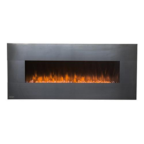 Touchstone Electric - On Wall 5 Flame Settings Realistic Flame 1500/750 & Crystal Timer
