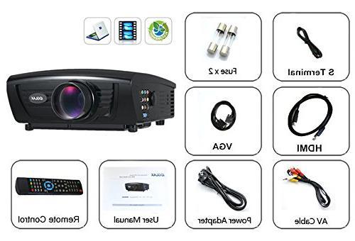 Digital Galaxy HD 2800Lumens, 5-Inch TFT LCD 70W LED LCD