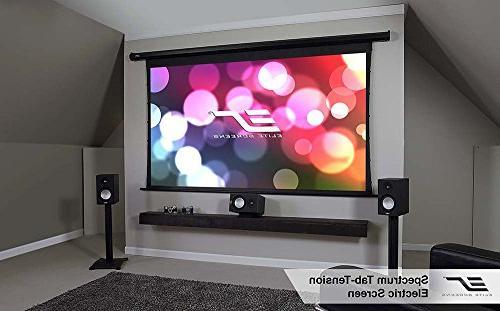 Elite Spectrum 125-inch Electric Motorized Projection Projector Screen,