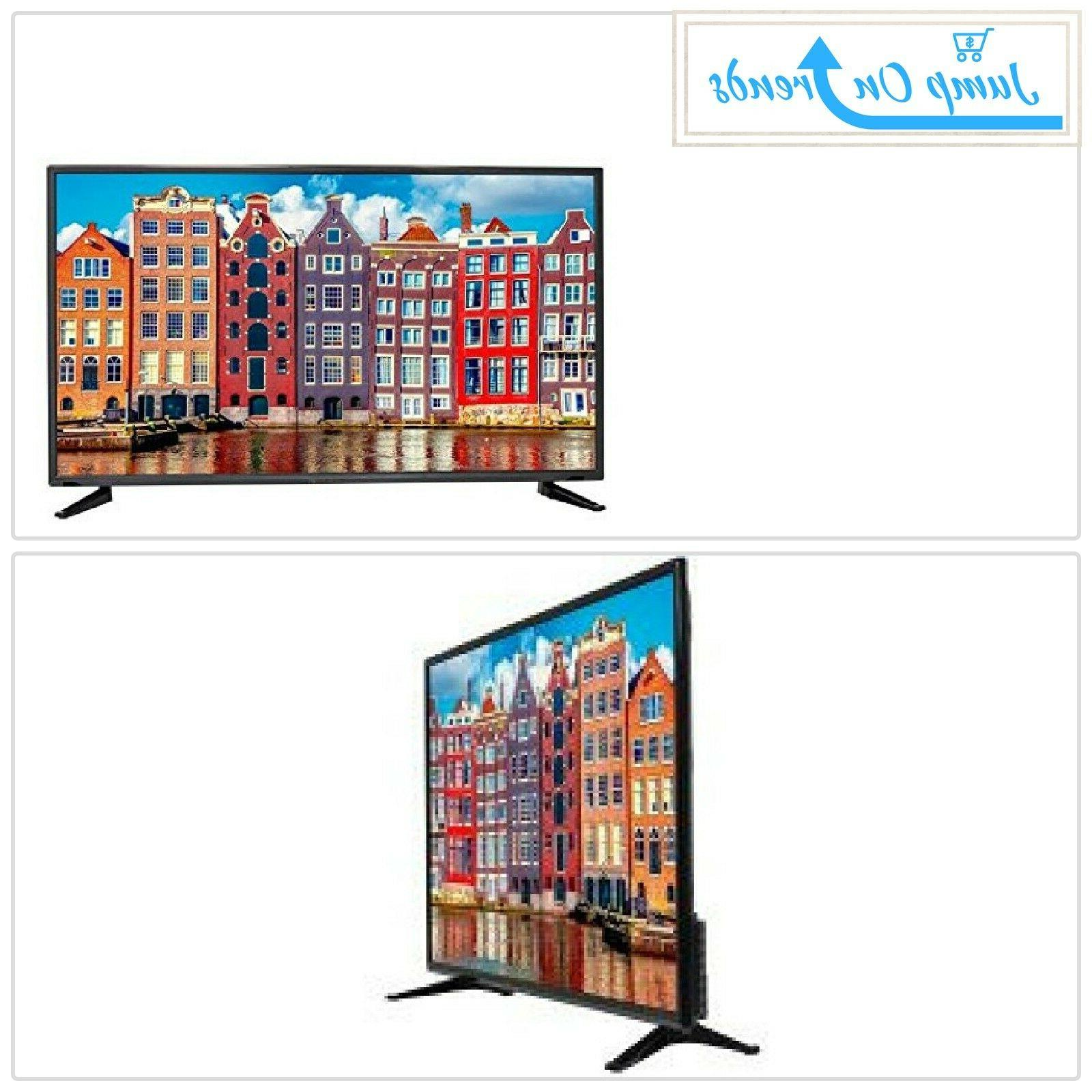 Flat Screen TV 50 Inch LED Television Wide Screen Surround S