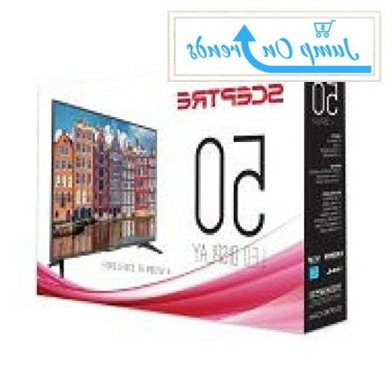 Flat Inch LED Television Wide Screen Surround High