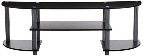 Furinno 11058BK/GY Turn-S-Tube TV Black/Grey