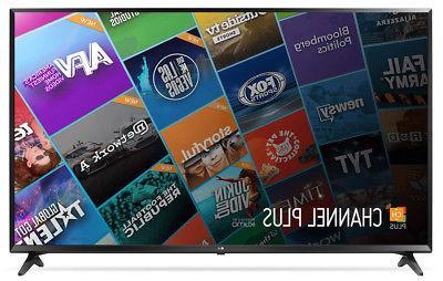 """LG 60"""" 4K Ultra HD HDR Smart LED TV w/ Wi-Fi HDMI USB - 60UJ"""